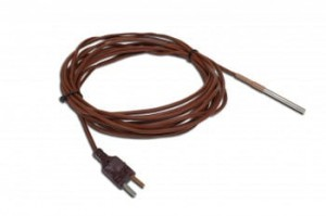 SE058 type T, S/S 50mm silicon cable, 10m